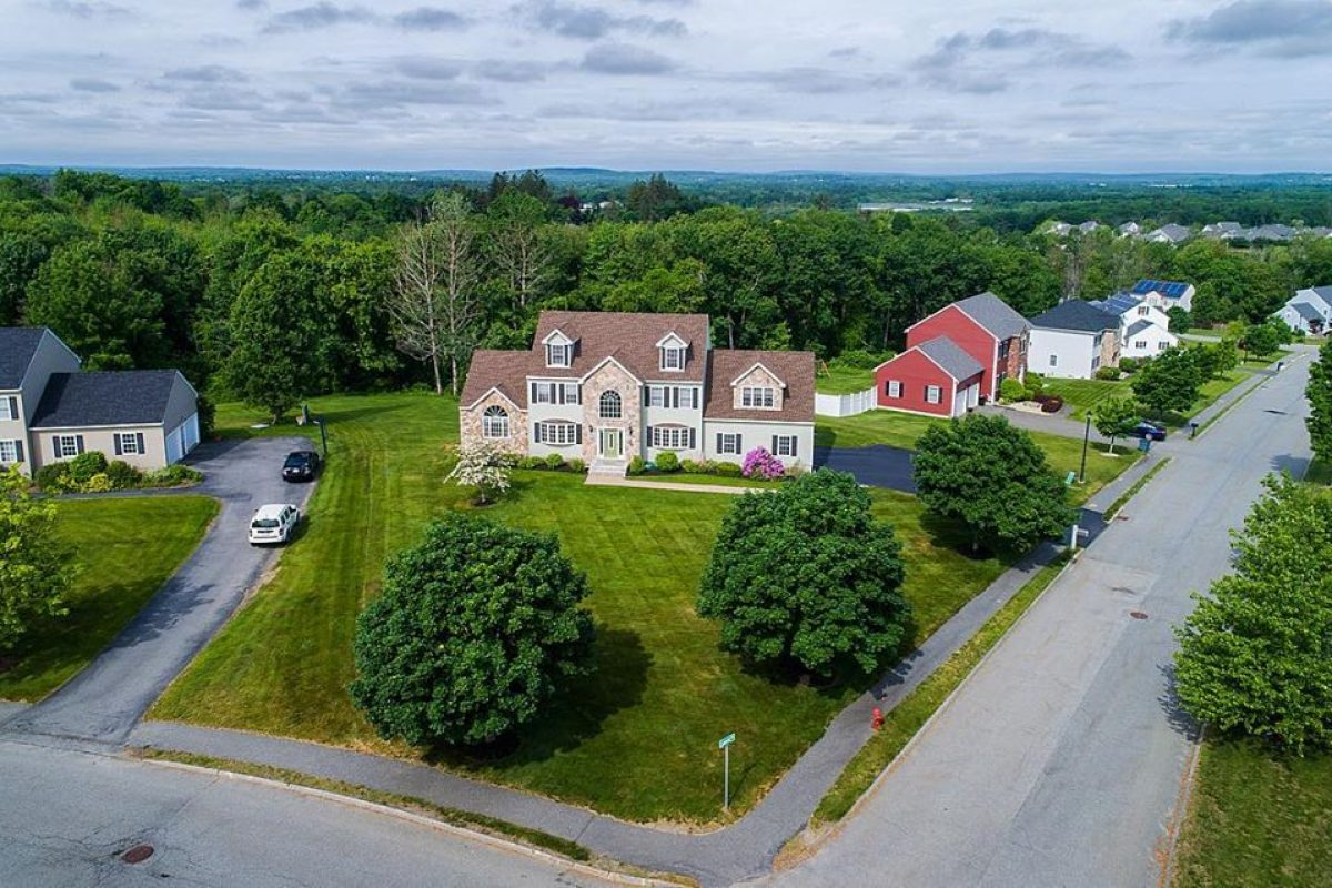 Andover, MA Aerial Real Estate Photography