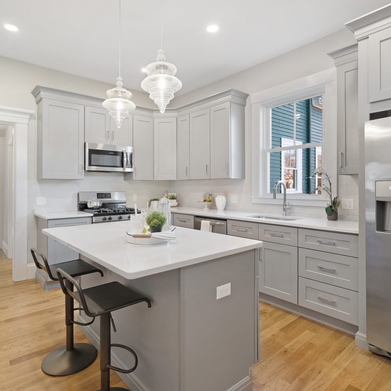 Luxury Kitchen Real Estate Photography Danvers MA